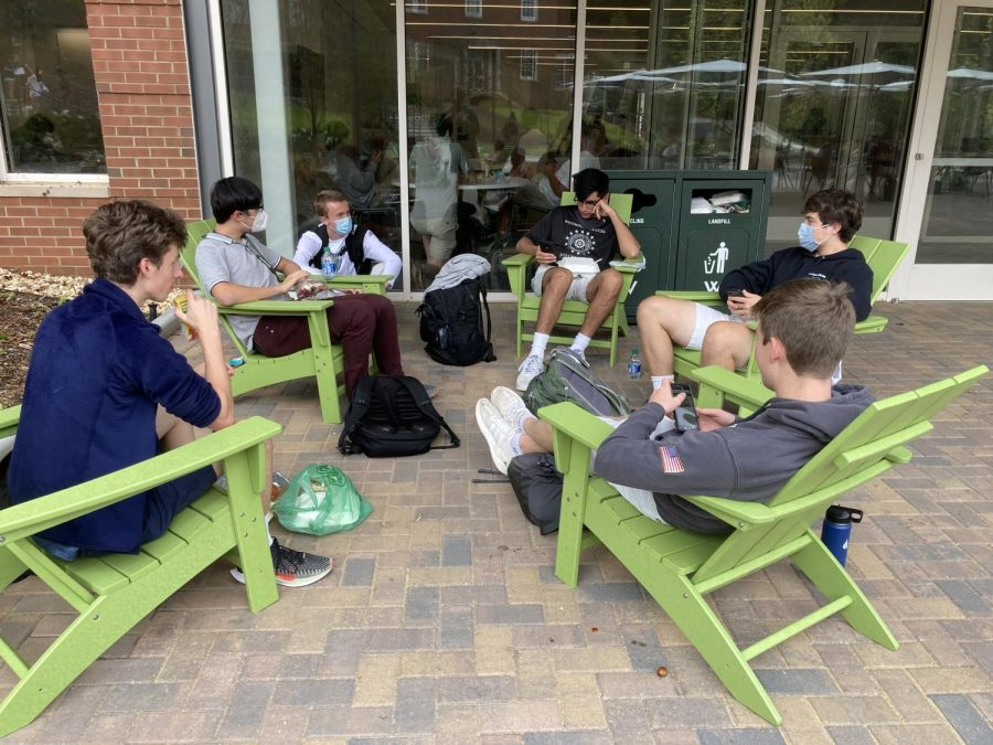 Students and Faculty Learn to Balance New COVID Social Life