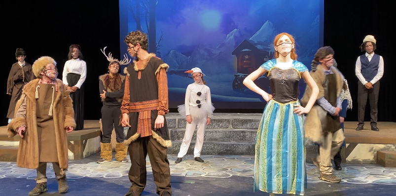 Middle School Musical Adapts to Changes to Satisfy Covid Protocols