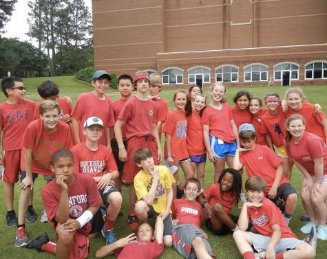 Middle School Students Eagerly Await Field Day