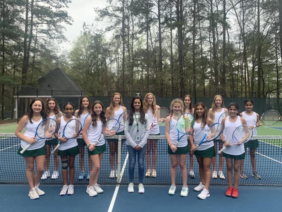 Tennis Team Starts Strong During COVID-19