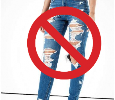 School Changes Dress Code: No Ripped or Frayed Jeans