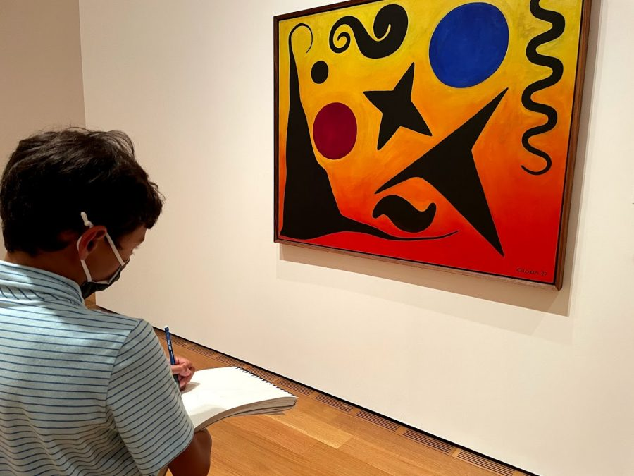 Middle Schoolers Visit High Museum on the First Field Trip Since Pandemic